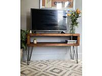 customizable Industrial Wooden hairpin Legs TV Sideboard