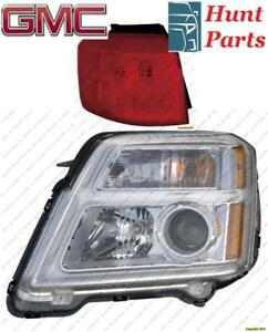 All GMC Head Lamp Tail Headlight Headlamp light Fog Mirror Phare Avant Arrière Antibrouillard Lumière Brouillard Miroir