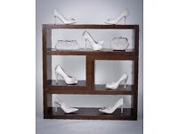 Wedding shoes and accessories. Personal appointments available locally.