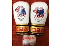4/ 6OZ KIDS Boxing Gloves Entry Level High Quality PU & Spec plus FREE Hand wraps
