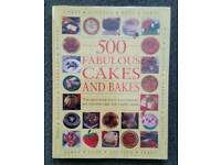 CAKE AND BAKING BOOK 500 FABULOUS CAKES AND BAKES