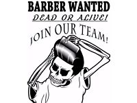 Barber Wanted - Dead or Alive