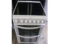 Hotpoint EW52 50cm Electric cooker fan oven, Grill, Ceramic Hob
