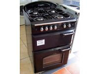 Leisure Gourmet Classic 60cm Black Gas Cooker, FSD, 6 Month Cover