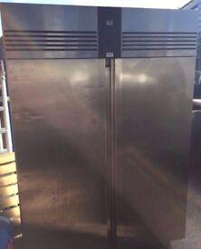 Full Stainless Steel Foster G2 Double Door Commercial Freezer