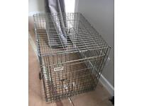 Dog crate/cage metal