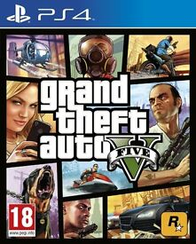 grand theft auto v on the ps4 console