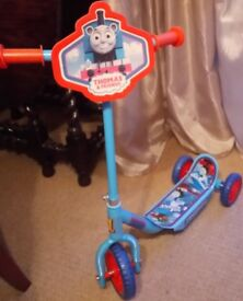 Thomas Tank First Scooter in Excellent Condition