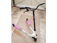 Fliker 3 Motion Scooter - Pink/White, 40.3 inch