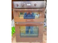 Hotpoint double built in electric oven - FREE DELIVERY