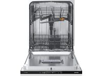 NEW Full Size A+ Fully Integrated Dishwasher Kitchen Cleaner Self Cleaning White - FREE DELIVERY