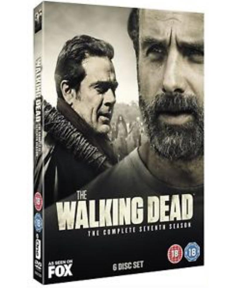 The Walking Dead The Complete Seventh Season Brand new Sealed