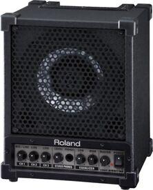 Roland Cube cm-30 monitor speaker 32watt pa system drums guitar keyboard karaoke