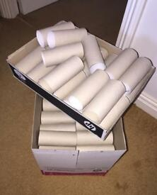 Box of 75 empty toilet rolls- perfect for crafts