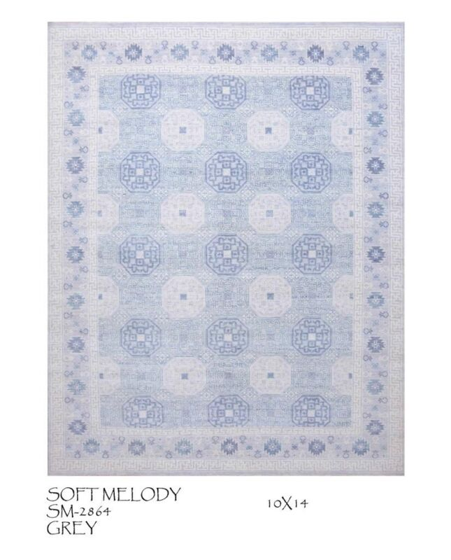 Tremendous Transitional - Soft Melody Rug - Contemporary Carpet - 10 X 14 Ft.