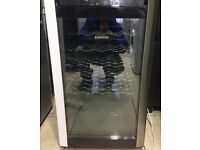 SAMSUNG black glass door wine cooler £90 free delivery great condition