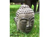 Large Garden Buddha head ornament statue