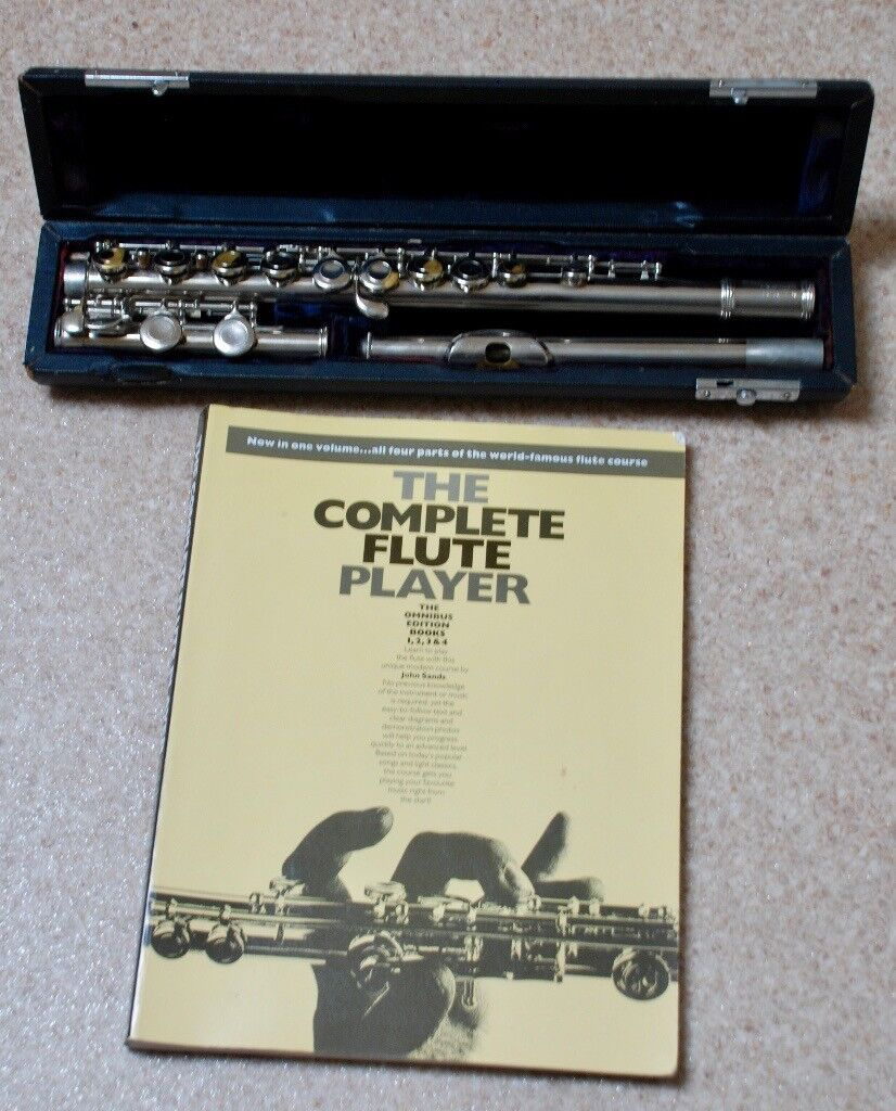Flute and instruction book