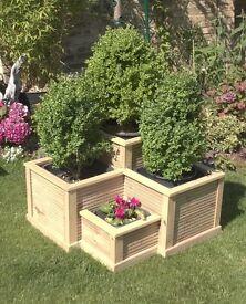 Planter - Corner Quad Box