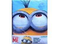 Despicable ME Minion Made Duvet Cover Set Single Brand New