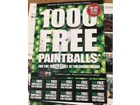 Paintballing tickets (exclusive offer)