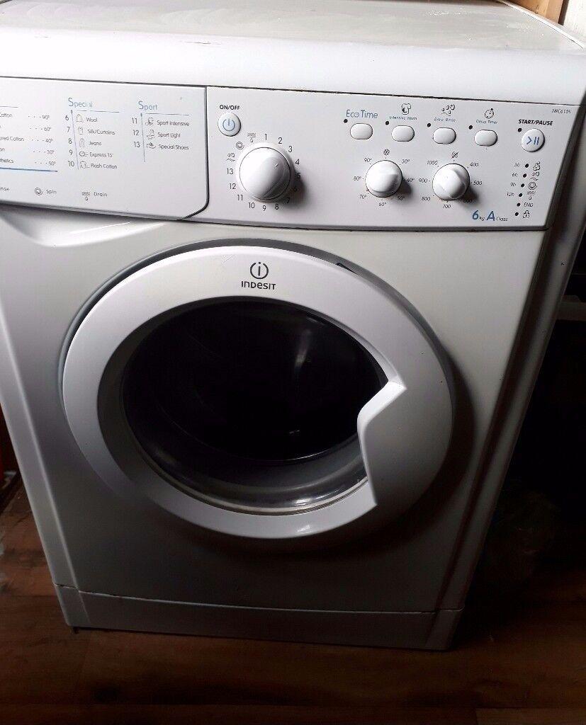Energy efficient Indesit washing machine