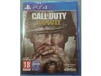 VIDEOGAME Call of Duty WW II PS4 (UK) New & Sealed.