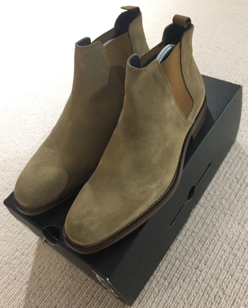 29930f2bc39 ALDO Suede Chelsea Boots (Not Saint Laurent