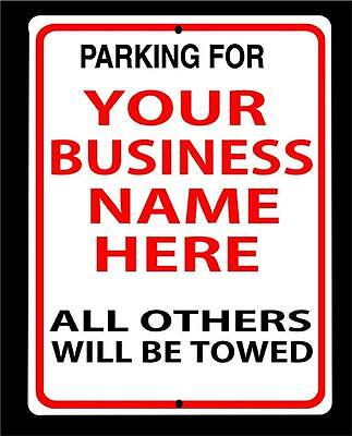 Personalized Business Parking Signs-your Name-choose Colors- Large 12x18