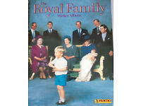 panini royal family sticker album
