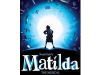 Matilda ticket for 2.6.18