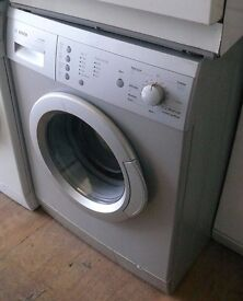 Silver Bosch 6kg load 1200 spin washing machine A energy rated