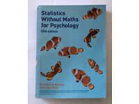 Statistics Without Maths for Psychology 5th Edition book