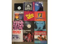 "Mixed records / Vinyl Job lot LP Albums, singles, 12"" various condition."