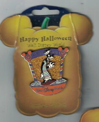 Disney 2007 Happy Halloween Candy Apple Characters Goofy Pin Le 2000 New