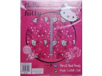 Brand new pair of curtains Hello Kitty