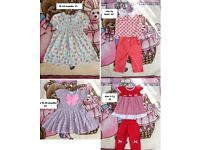 Girls clothes size 18-24m