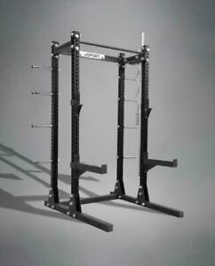 "SQUAT RACKS BEST ON MARKET LASER CUT GAGE 11 3"" x 3"" Nex Day Shipping"