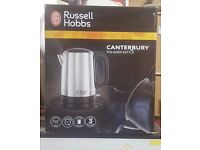 Russell Hobbs Canterbury Kettle, Brushed Stainless Steel Silver