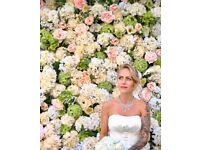 8*8 ft Luxury Flower Wall Hire Free Delivery London £239