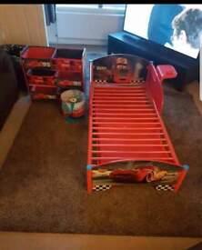 Disney cars toddler bedroom set