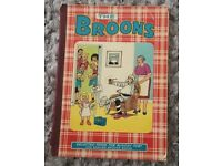 "Annual Books/Publications (x3) ""The Broons"" Vintage/Shabby Chic"