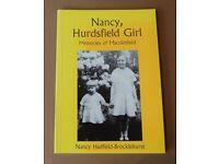 Nancy, Hurdsfield Girl, Memories Of Macclesfield , Nancy Hadfield-Brocklehurst. 2002.