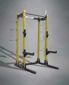 SQUAT RACKS BEST ON MARKET LASER CUT GAGE 11 3 x 3 Nex Day Shipping