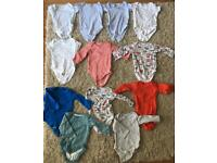 0-3 months baby clothes bundle