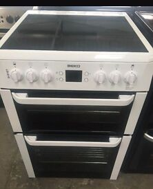 BEKO 60cm ELECTRIC COOKER, NEW MODEL ,EXCELLENT CONDITION, 4 MONTHS WARRANTY