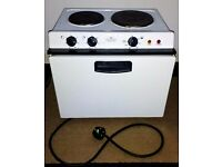 Baby Belling Electric Cooker with Hobs, Oven & Grill - White - Good condition - Only £50