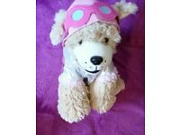 Soft toy dress up dog