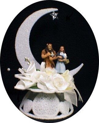 - Dorothy and the Cowardly Lion Wizard of OZ Wedding Cake Topper funny The Wiz