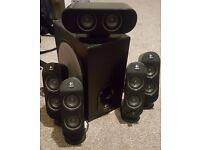 Logitech X-530 5.1 surround speakers